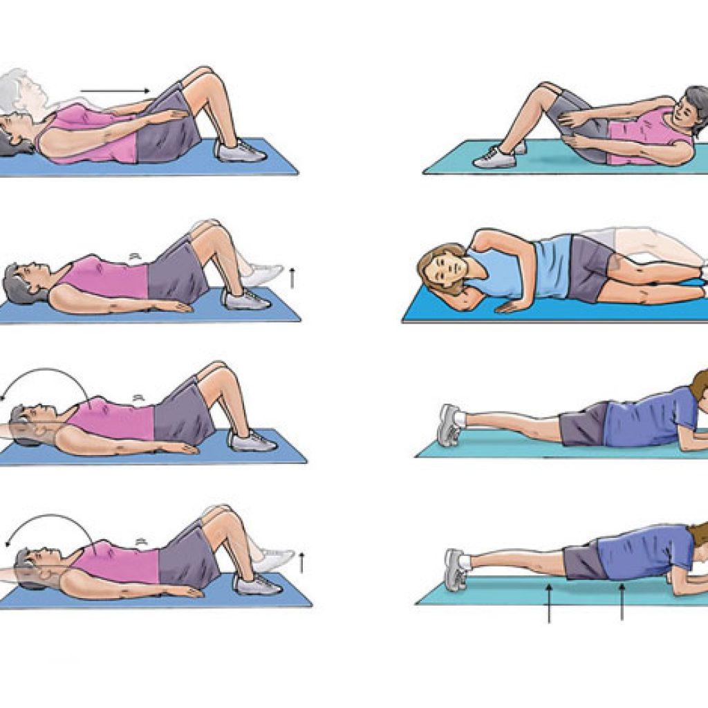 Висячий дряблый живот: упражнения для живота. Видео 2